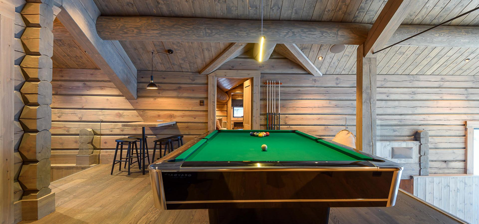 Mosetertoppen Lodge loft