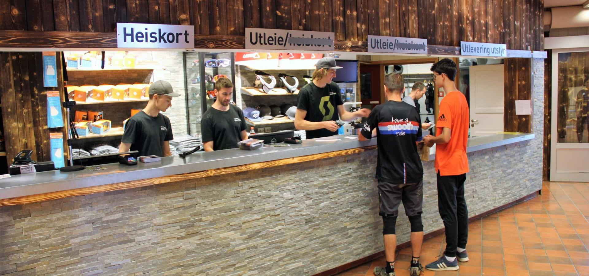 Hafjell Bike Shop