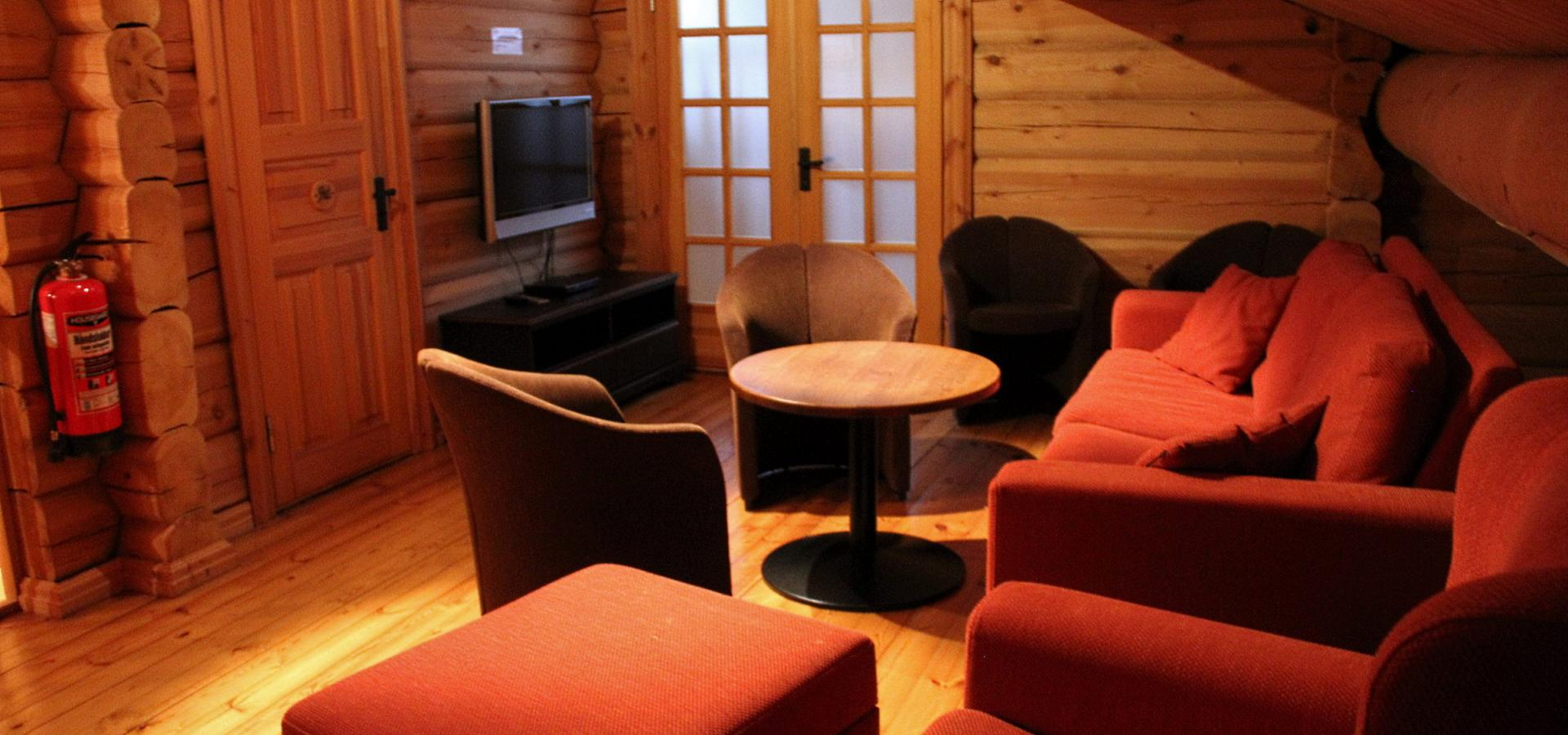 TV stue Hafjell Lodge 31
