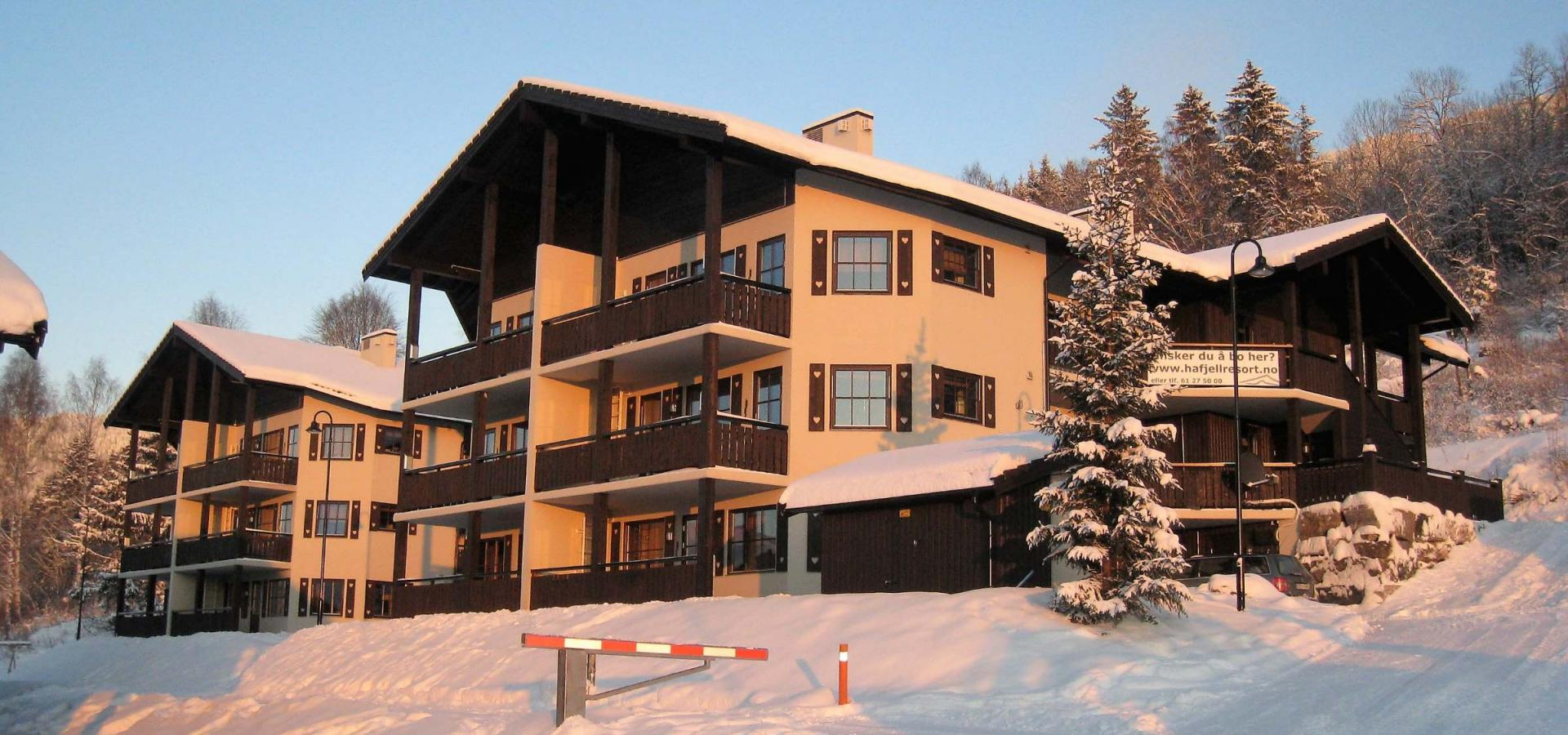 Alpin apartments in Hafjell