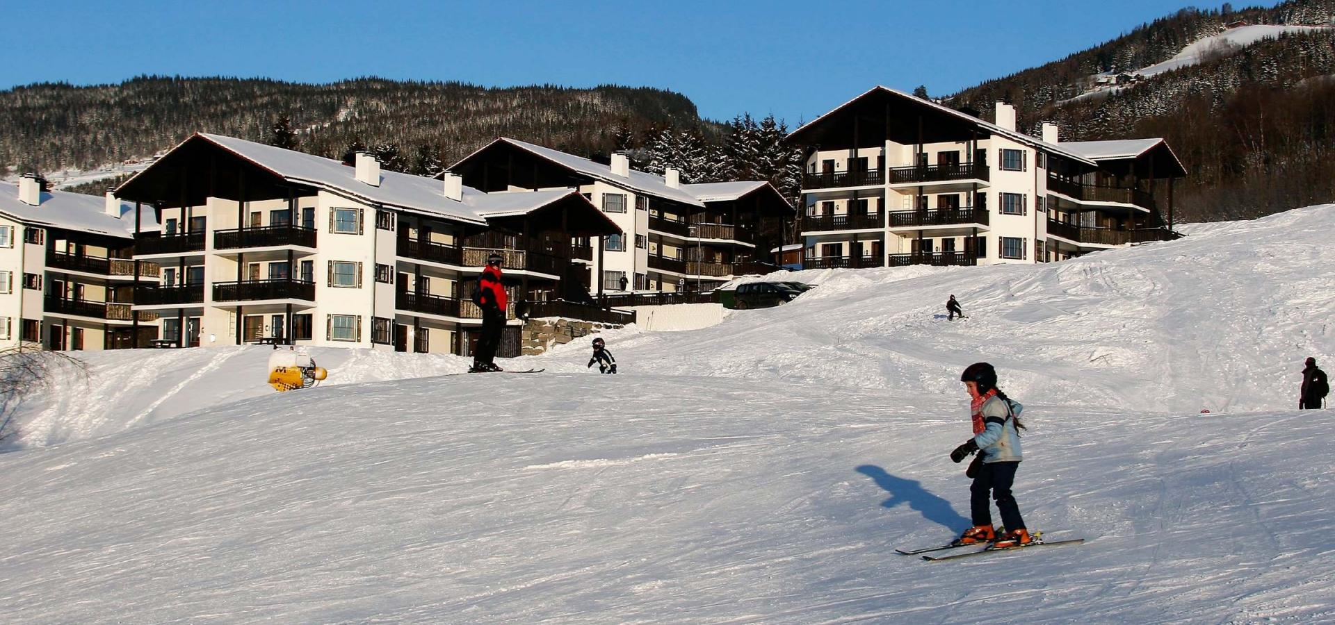 Alpin Apartments Solsiden vinter