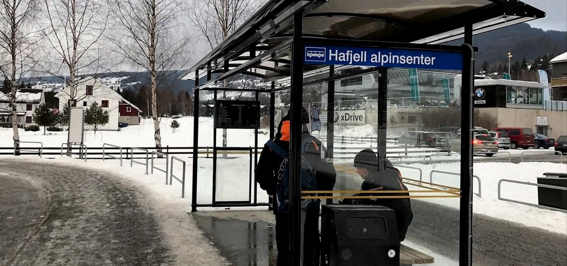 buss lillehammer hafjell