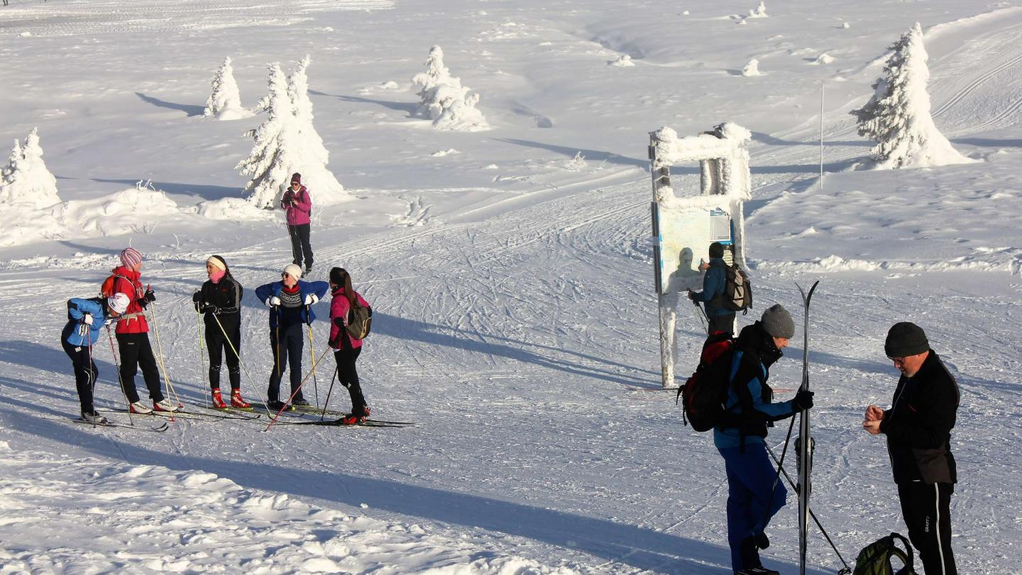 Nordic skiing in Hafjell